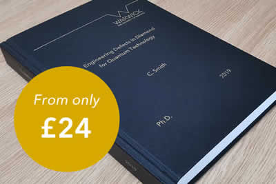 Warwick Print offers premium book binding services